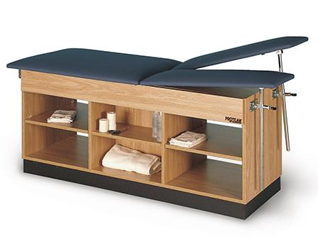 Split Leg with open shelves