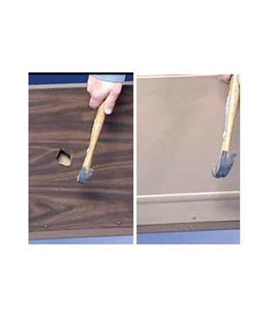 Difference between fiberboard and Invacare Universal Bed Ends