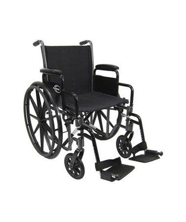 Lightweight Detachable Arms Wheelchair Copy KARLT-700T-