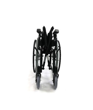 Karman Ultra Lightweight Adjustable Wheelchair - Folded, Front