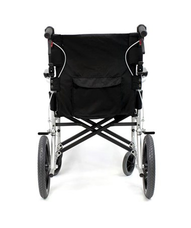 Karman S-Ergo Flight Transport Wheelchair - Rear View