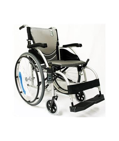 Karman S-Ergo Ultralightweight Wheelchair in Silver