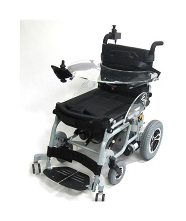 Karman Power Stand Power Drive Wheelchair with Companion Controller (Tray Not Included)