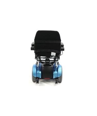 Karman Power Stand Power Drive Wheelchair Rear View
