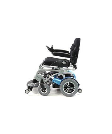 Karman Power Stand Power Drive Wheelchair Side View