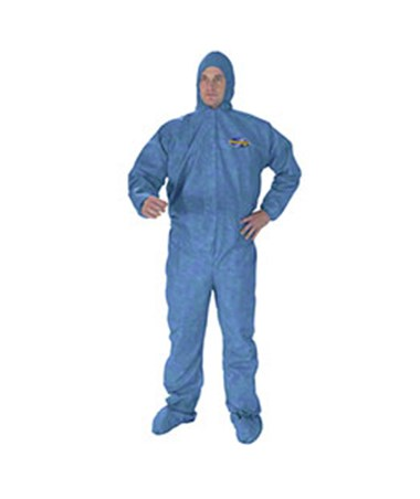 Hood, Boot, Blue, Large, 24/cs