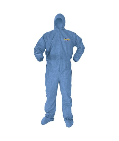 Hood, Boot, Blue, Medium