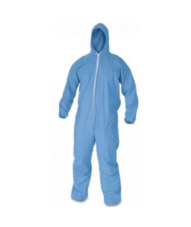 Hood, Boot, Blue, XL
