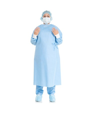 BASICS Kc100 Non-Reinforced Surgical Gowns KIM99284