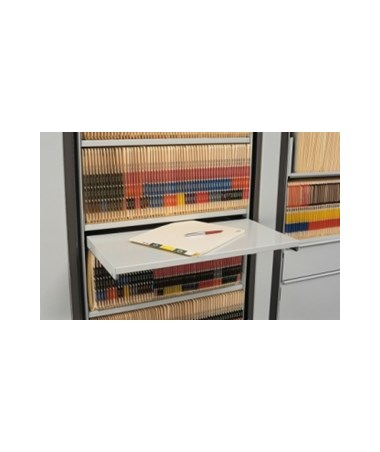 MAYARC2412RS- Pull Out Reference Shelf for ARC Rotary File Systems - Assembled