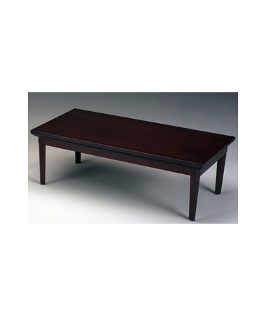 MAYCTR - Corsica® Series Rectangular Waiting Area Table - Mahogany