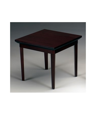 MAYCTS - Corsica® Series Square Waiting Area Table - Mahogany