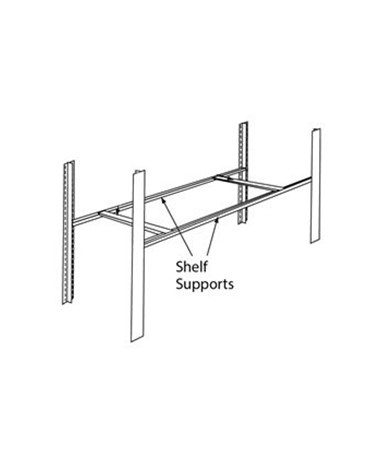 4-Post Heavy Duty Shelf Supports MAYEX24SS-