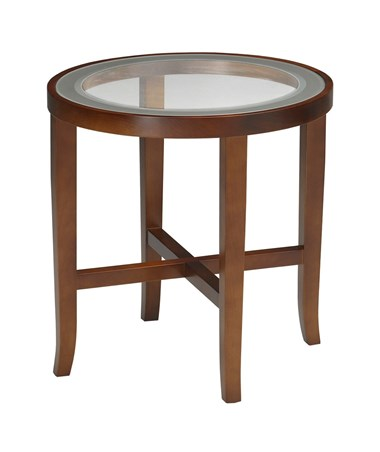 Illusion Series Round End Table MAYM106R