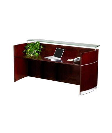 MAYNRS- Napoli® Reception Station with Optional Pedestals - without Storage