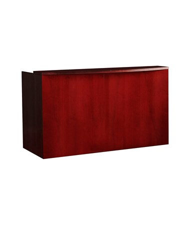 MAYRS7278D- Luminary Series Reception Station with Optional Pedestals - Cherry Veneer