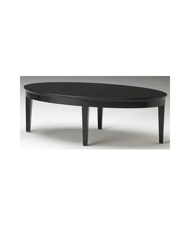 MAYSCFT - Sorrento™ Series Oval Coffee Table - Espresso
