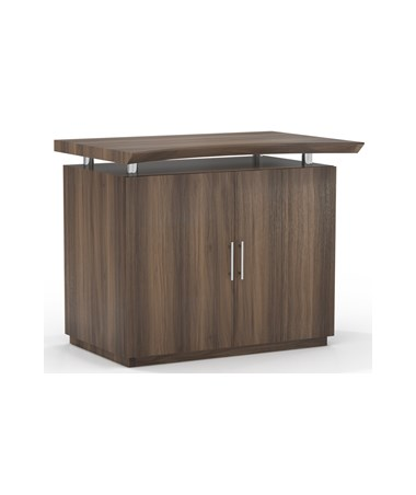 "MAYSTERCSC - Sterling™ Series 36"" Freestanding Wood Storage Cabinet - Textured Brown Sugar"
