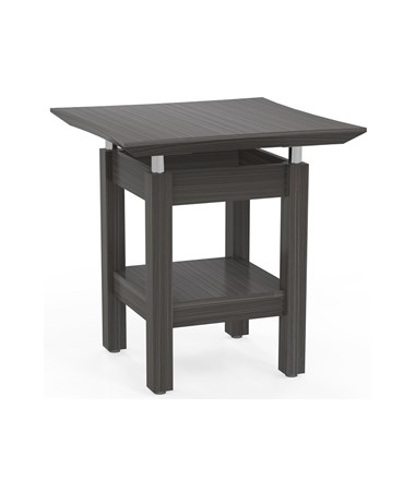 MAYSTET - Sterling™ Series End Table - Textured Driftwood