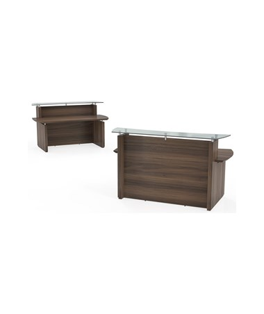 MAYSTRC72- Sterling™ Series Reception Station - Texture Brown Sugar