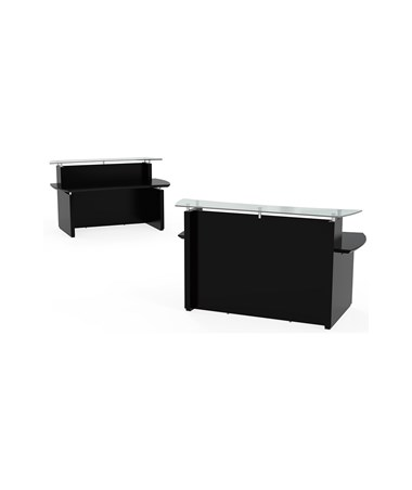 MAYSTRC72- Sterling™ Series Reception Station - Textured Mocha