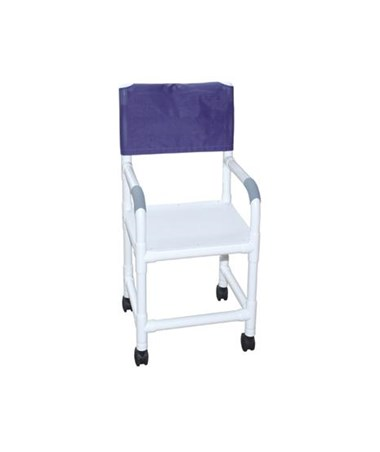 MJM118-5-F Flatstock Shower Chair with Heavy Duty