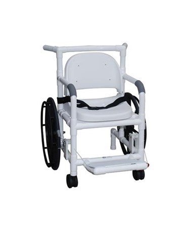 MJM131-18-24W-FS Self Propelled Aquatic Rehab Transport Chair With Support Seat MJM131-18-24W-FS