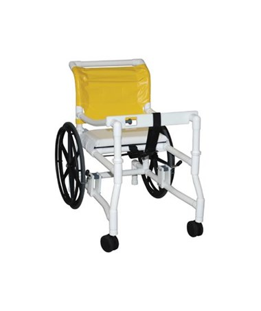 MJM 418-24 Height Adjustable Combination Transport/Walker Chair