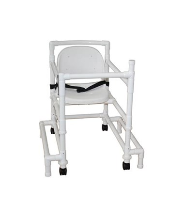 MJM 418-OR-3-FS-MRI Non-Magnetic Walker  with Full Support Seat and Outriggers