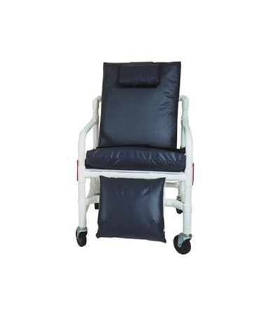 MJM 530-S Bariatric Reclining Geri Chair with Elevated Leg Rest