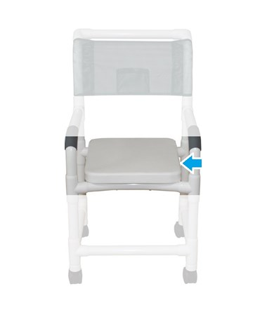 Sliding Footrest for MJM Shower Chairs MJMSF