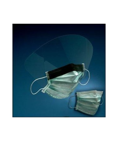3M High Fluid Resistant Procedure Mask With/Without Face Shield