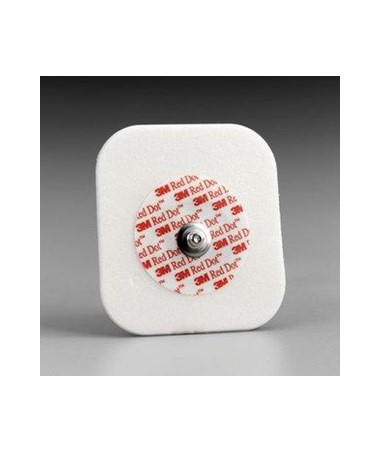 Red Dot™ Diaphoretic Foam Monitoring Electrode MMM2270-3-