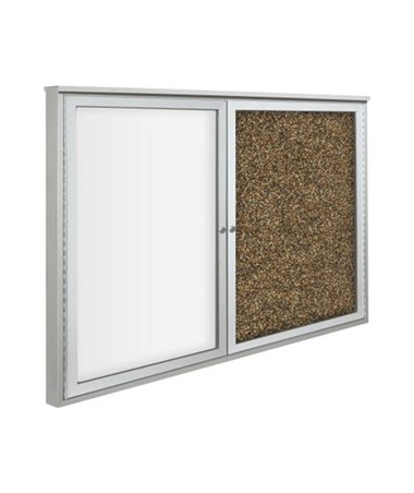 Weather Sentinel™ Double Function Outdoor Bulletin Board MOO94HACC-O-RT-