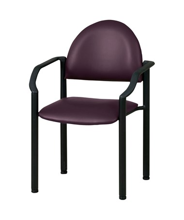 Exam Side Chair with Wall Guard P270050