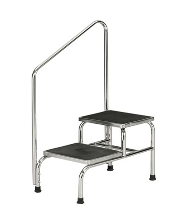 Chrome Two Step Bariatric Step Stool NDCP274250