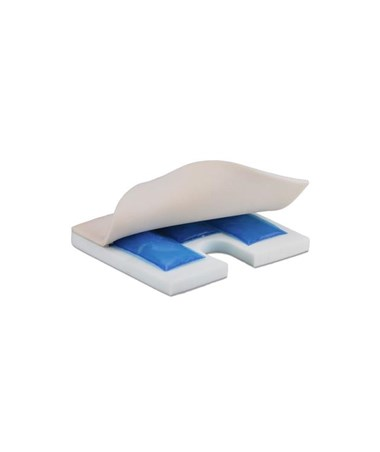 Nova 2603 Gel Foam Coccyx Cushion - Inside