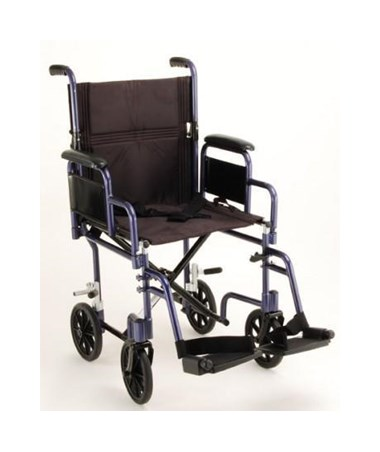 Nova 349B 19-Inch Transport Chair with Deskarms