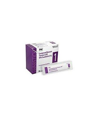 Tinc of Benzoin Swabsticks 50 per box, 10 boxes PDIP-S42450