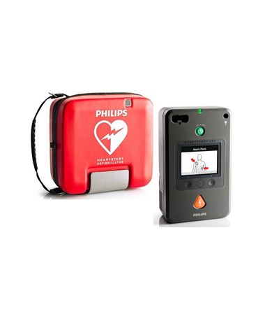 PHI861388- HeartStart FR3 Defibrillator - FR3 with Soft Case