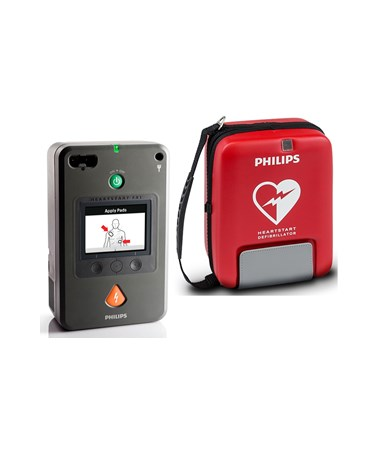 PHI861388- HeartStart FR3 Defibrillator - FR3 with Small Soft Case