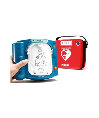PHIM5066A- HeartStart OnSite Defibrillator (HS1) - with Slim Case
