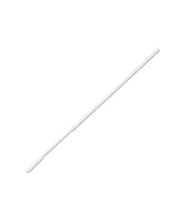 "6"" Non-Sterile Standard Tipped Nylon Ultra Flocked Swab with Polystyrene Handle & Molded Break Point"