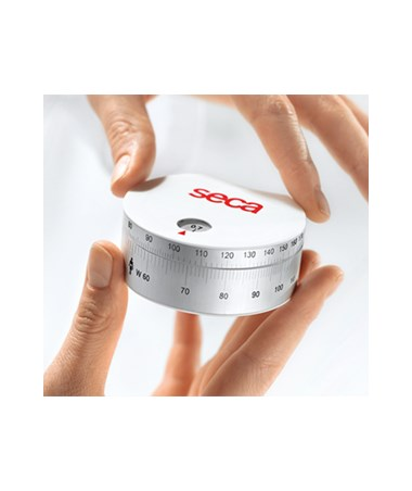 SEC2031817009 - 203 Retractable Measuring Tape with Waist-To-Hip-Ratio Calculator - Side View