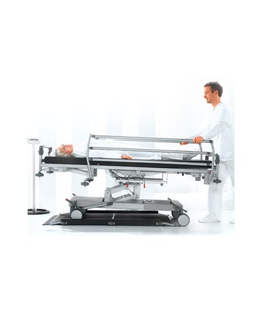 SEC6561321103 -656 High Capacity Digital Stretcher Scale with Wireless Transmission - Accomodates Stretcher