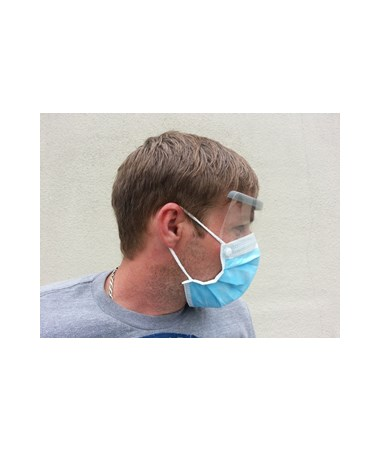 With Eye Shield Ear Mask Face And Disposable Loop
