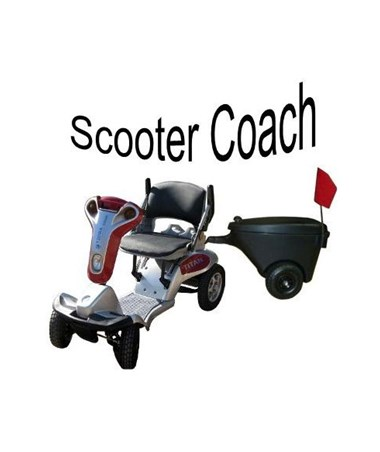 Scooter Coach with Titan 4 (Hummer XL)