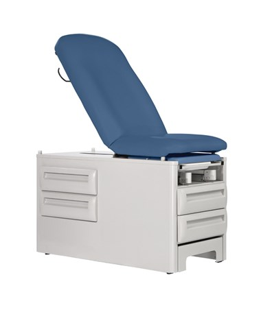 Signature Series - ProFrontStep Exam Table with Optional Armboards and Accessory Rails UMF5240