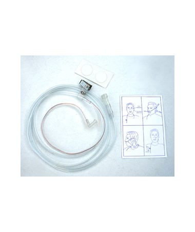 UNIPS-1004- UPODS Single-Prong Nasal Cannula with Soft Touch Mating - Cannula with Manual