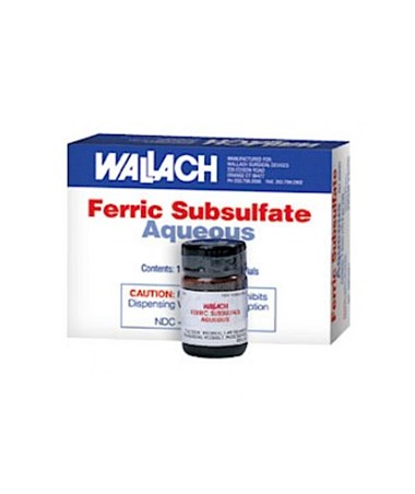 15 ml Ferric Subsulfate Aqueous Solution, 12/box WAL909084